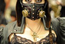 Steampunk Masks & Gas Masks / Steampunk Masks & Gas Masks