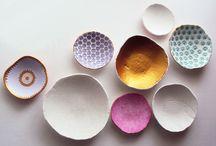 DIY|| Air dry clay bowls
