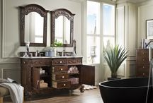 Costa Blanca Collection / Shabby chic meets upscale class in the Costa Blanca collection. This vanity has incredible detail to keep your guests impressed. From the claw feet to the ornate woodwork, this piece offers the best of both worlds. With a white finish, your space transforms to a crisp, clean oasis. Relax in your spa-like space and enjoy the fresh white as it washes over you. When you have the Costa Blanca vanity, your bathroom space seems bigger, more open, and upscale.