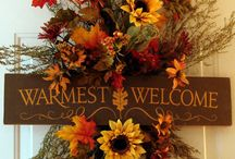 Fall decorations / by William Wolbert