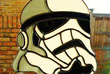 star wars white and black helmet