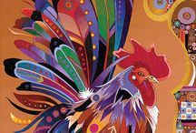 Курица в искусстве