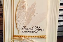 Stampin Up - Sympathy Cards