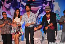 Shahid Kapoor & Ileana D'Cruz at first look launch of PHATA POSTER NIKLA HERO / Bollywood actor Shahid Kapoor, Ileana D'Cruz, Ramesh Taurani and other celebs were snapped at the first look launch of PHATA POSTER NIKLA HERO / by Glamsham