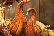 Falling into autumn / Fall and autumn decor and crafts.