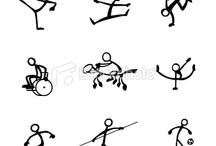 sportende mensen