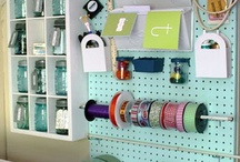 Craft Room Ideas / by EDee Bolyer Coleman