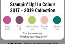 Stampin' Up! 2017-2018