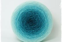 Gradient Dyed Yarn