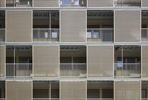 Square facades