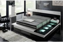 Bed Rooms / The Choice Custom Home offering you a sophisticated modern look beds. We also offers outstanding feature in beds like light incorporated in the headboard.