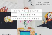 social media tips. / Social Media Tips for Pinterest, Twitter, Instagram and Facebook.
