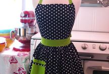 Aprons...I am a fanatic for them. / by Hazel Gibson