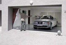 Funky Garage Doors!