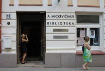 Bibliotekos istorija / Bibliotekos istorija prasidėjo 1950 metais, tačiau pastato istorija mus nukelia net į XVI a.
