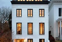 House Style: Mansard Roof / mansard roof (also called a French roof or curb roof) / by cecy j interiors