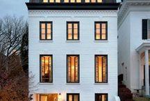 Maisons façades