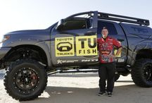 The Ultimate Fishing Tundra / Britt Myers is not only a Bassmaster Elite Series pro; he's also the owner of CS Motorsports, an automotive customization center in North Carolina.  Toyota asked Myers to build the Ultimate Fishing Tundra, a truck that would meet an angler's needs more than any other vehicle available. www.csmotorsports.com