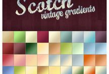 1000+ Photoshop Gradients / by Anthony Pillos