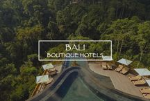 Bali Boutique Hotels / Known as the Island of the Gods, Bali is an Indonesian island that we could also name paradise. Not only it offers wonderful beaches and wild jungles, but its cultural heritage is also a must-see of the island. #Bali #BoutiqueHotel #Resort #DesignHotel