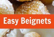 Beignets. Crossaunt donuts