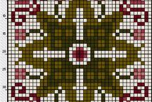 Crafties: Biscornu / Embroidery patterns for biscornu