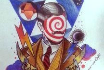 tattoo drawings / tattoos,designs,drawings ,colour.gentleman