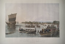 The Japan Expedition Under Commodore Perry; Heine, Wilhelm, 1827-1885 / All images are sourced from the University of Virginia Library digital repository. All items are housed in the Albert and Shirley Small Special Collections Library, University of Virginia. You may request high quality images for reproduction from UVa Library's Digital Curation Services at http://tracksys.lib.virginia.edu