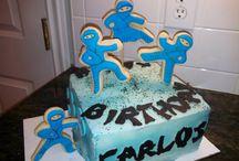 Ninja and Zombie Cakes