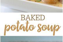 Pişmiş Patates Çorbası