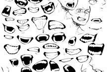 Drawing References - Mouths