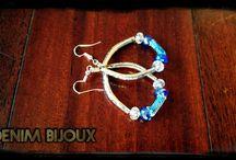 DENIM BIJOUX / Bijoux en perles et Jeans! Recycler et créer, voici ma recette pour réaliser ces bijoux. Plus d'info sur :  denimbijoux.com https://www.facebook.com/denimbijoux/