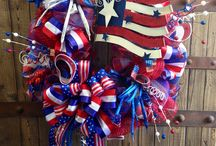 Wreaths- 4th of July / by Sherri Hall