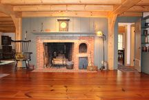 The Fireplace or Keeping Room / Whether for food, warmth or friendship, the hearth fulfills our basic need for gathering.
