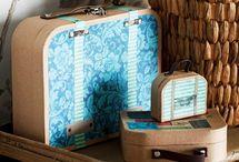 matkalaukut ja rasiat
