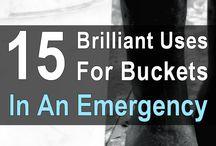 bucket uses