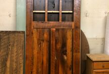 Reclaimed Barnwood Sliding Barn Doors / Sliding barn doors are not just for farmhouses anymore. Their unique look and space saving functionality have made sliding barn doors a popular architectural detail. Their rustic features work well in both modern and contemporary spaces too. They are also a clever alternative in small spaces since they take up much less space than traditional swinging doors. Sliding barn doors are a beautiful way to bring warmth and character to any room in any style home.