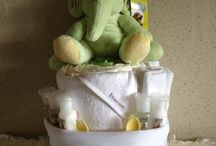 Nappy Cakes and Baby Gifts by Erin / Nappy Cake Baby Gifts - found on Nappy Cakes by Erin