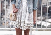 white lace dress outfits