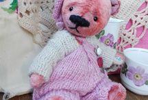 Купить Чай из цветов шиповника - кремовый, мишка тедди