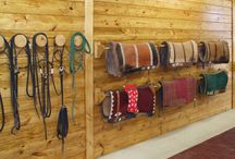 Tack room / Ideas for my new tackroom. Also projects I've started and my tackroom in progress.