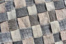 Weven Weaving inspiratie / Weven met diverse materialen