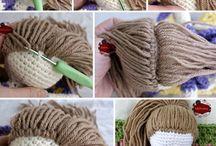 Amigurumi saç