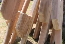 Wood / Stilts