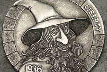 Wizards, Witches & Wise Men: Hobo Nickels