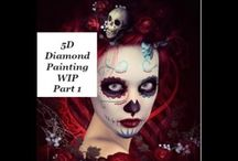 5D Diamond Painting / -- Works in Progress (WIPs)  --Unboxings & Reviews -- My Favorite Places to Shop -- My Wishlist
