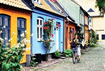 Places to visit in Scandinavia / This board will tell you about the best places to visit in the Scandinavian countries Denmark, Norway, Sweden