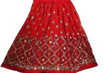 Bohemian designer skirt