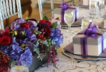 Brunch - Purple, red and grey / Debbie Kennedy Events & Design www.debbiekennedyevents.com https://www.facebook.com/DebbieKennedyEvents