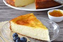 Tarta queso y limón.